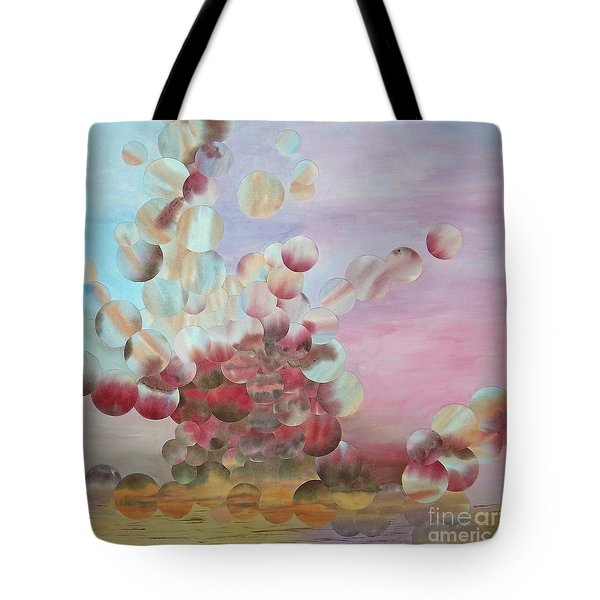 Ocean's Draw Tote Bag by Jeni Bate