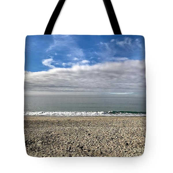 Tote Bag featuring the photograph Ocean's Edge by Kim Nelson