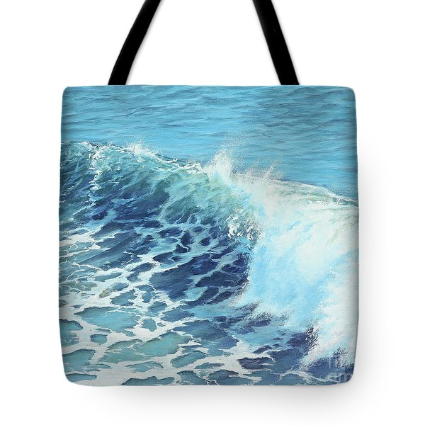 Ocean's Might Tote Bag