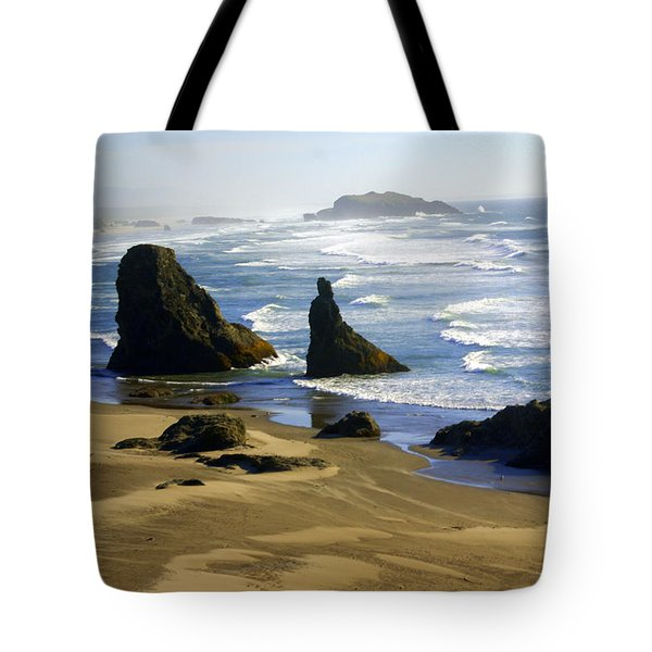 Oceanscape Tote Bag by Marty Koch
