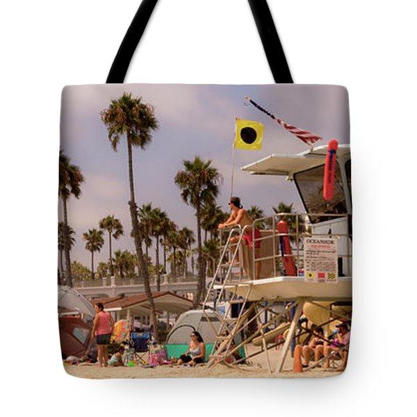 Oceanside Beach Tote Bag