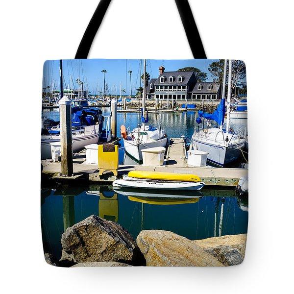 Oceanside Harbor 4 Tote Bag