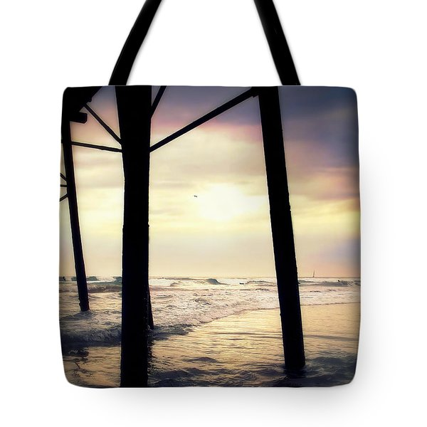Tote Bag featuring the photograph Oceanside - Late Afternoon by Glenn McCarthy