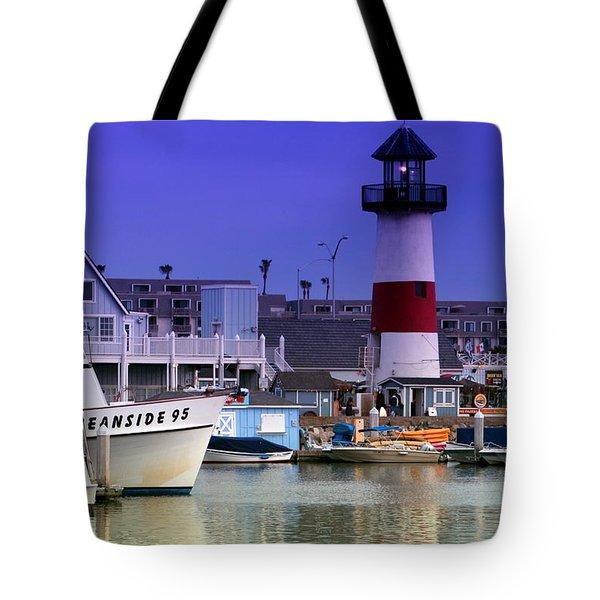 Oceanside Light Tote Bag