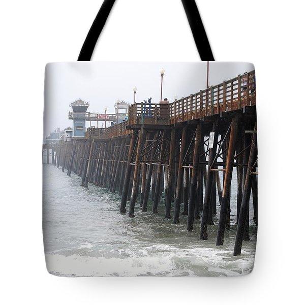 Oceanside Pier  Tote Bag