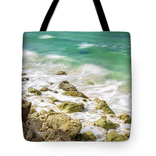 Oceanside In Trelawny, Jamaica Tote Bag