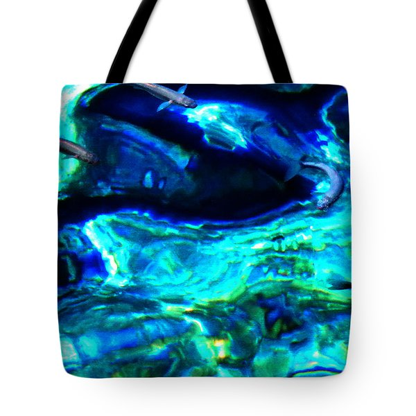Tote Bag featuring the photograph Ocean Reflections  by Colette V Hera  Guggenheim