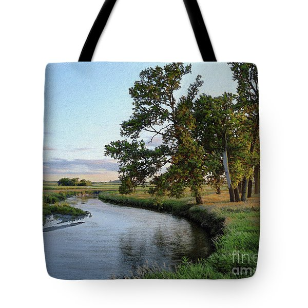 Ocheyedan Evening Tote Bag