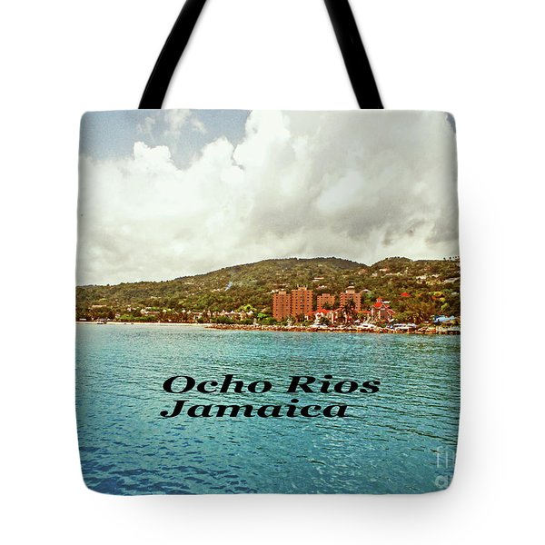 Tote Bag featuring the photograph Ocho Rios Jamaica by Gary Wonning