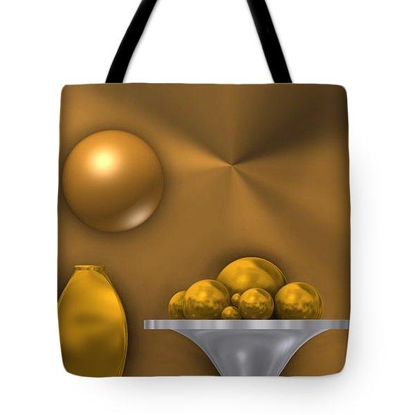 Ochre Still Life Tote Bag