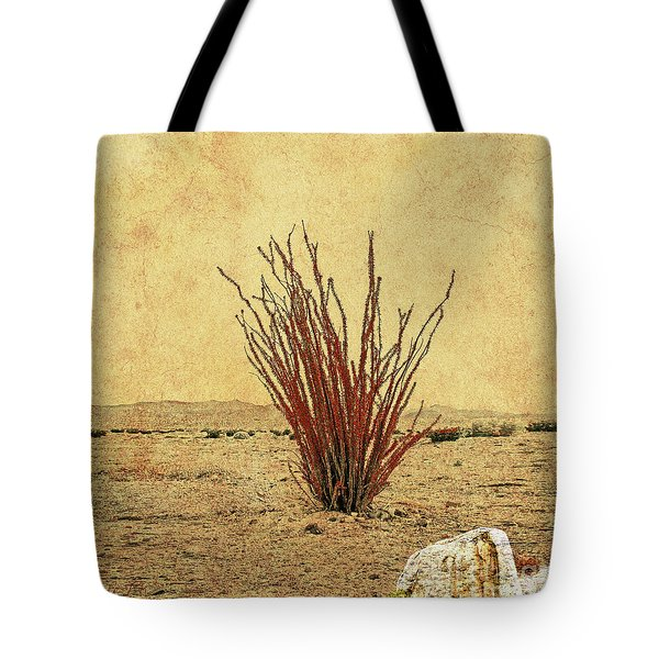 Ocotillo - The Desert Coral Tote Bag