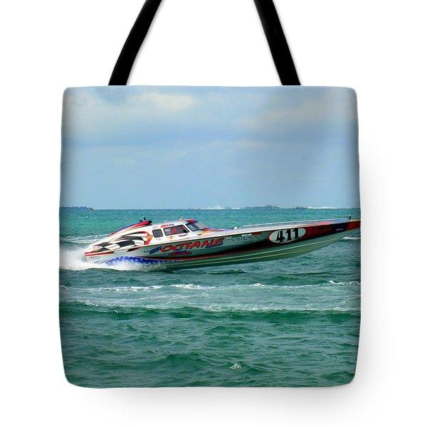 Octane Tote Bag by Karen Wiles
