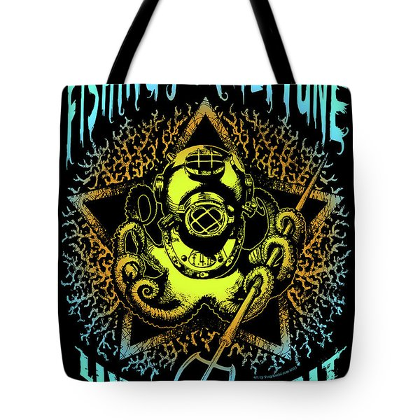 Octo Tote Bag by Tony Koehl