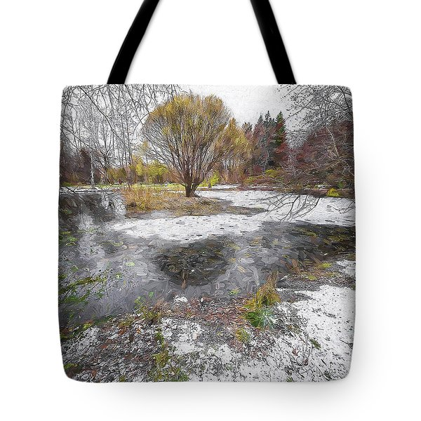 October 2 Tote Bag