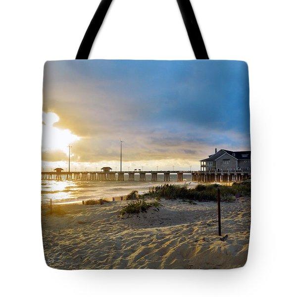 October 3 2016 Obx Sunrise Tote Bag