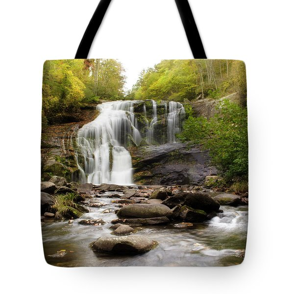 October At Bald River Falls Tote Bag