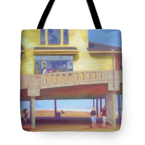 October At Johnnie Mercer's Tote Bag by Carol Strickland