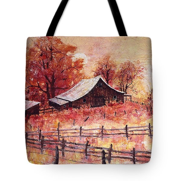 October Barn Tote Bag