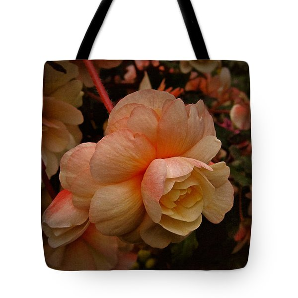 Tote Bag featuring the photograph Vintage Begonia No. 2 by Richard Cummings