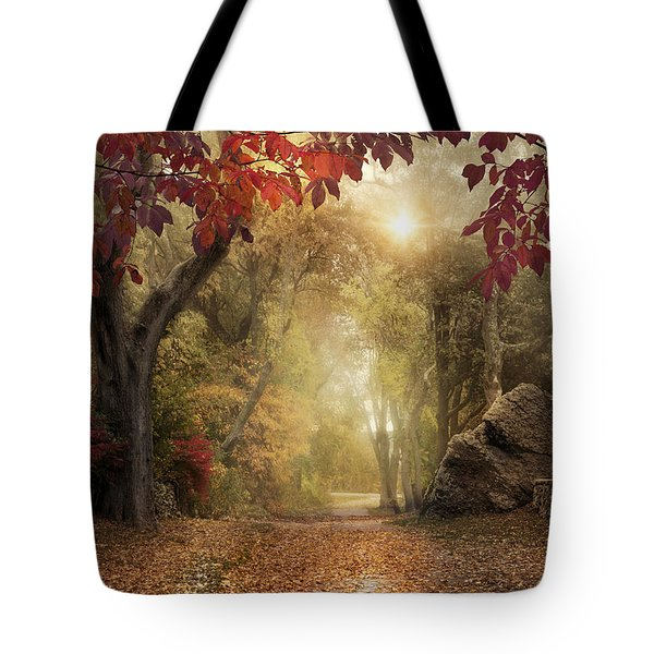 October Dreamer Tote Bag by Robin-Lee Vieira