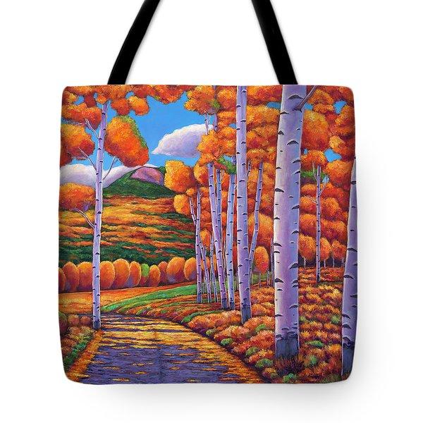 October Enclave Tote Bag