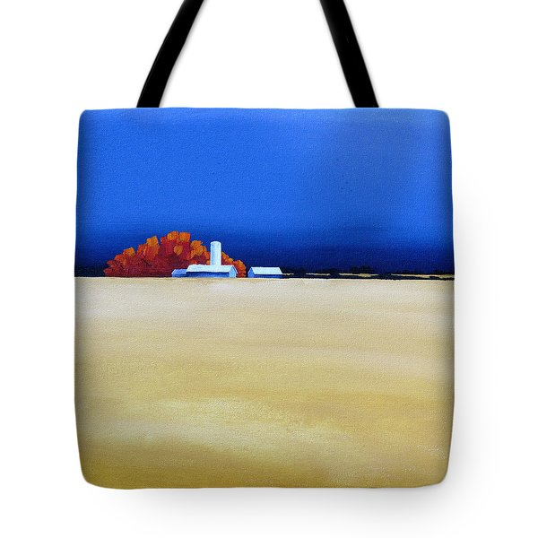 October Fields Tote Bag