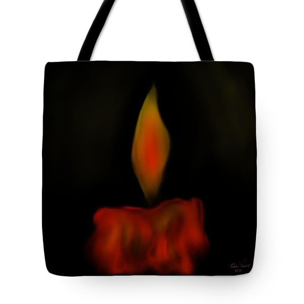 October Flame Tote Bag by Kevin Caudill