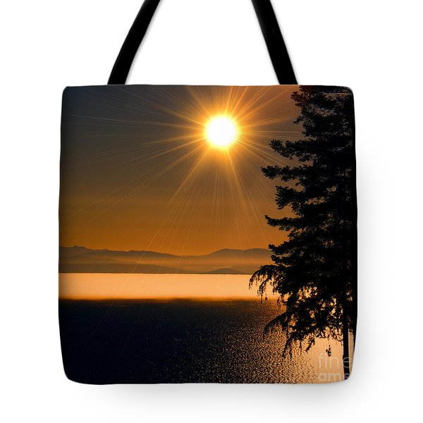 October Fog Tote Bag