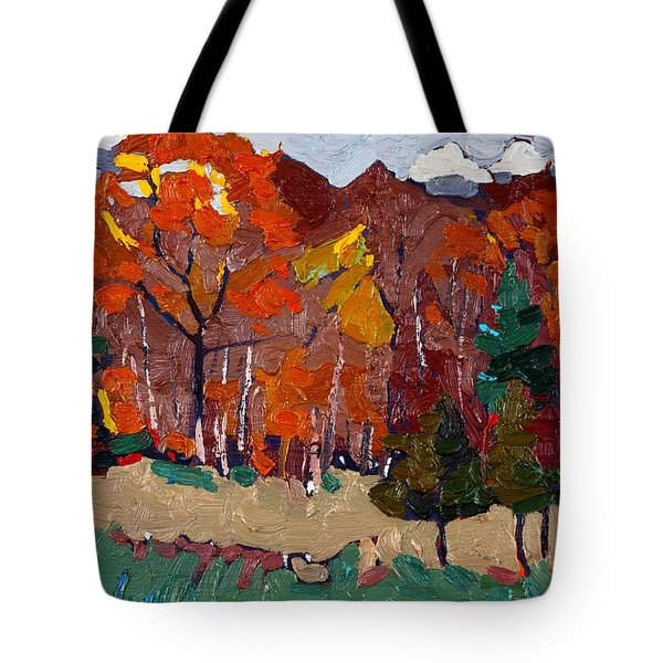 October Forest Tote Bag
