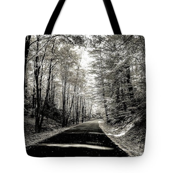 October Grayscale  Tote Bag