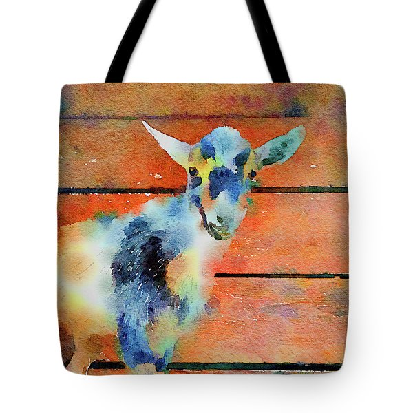 October Kid Tote Bag by Michele Ross
