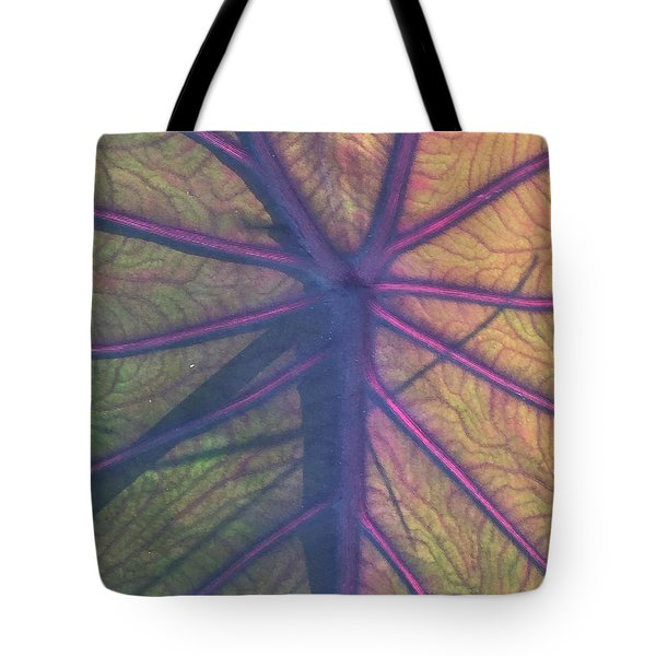 Tote Bag featuring the photograph October Leaf by Peg Toliver