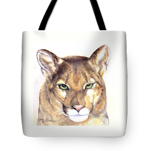 October Lion Tote Bag