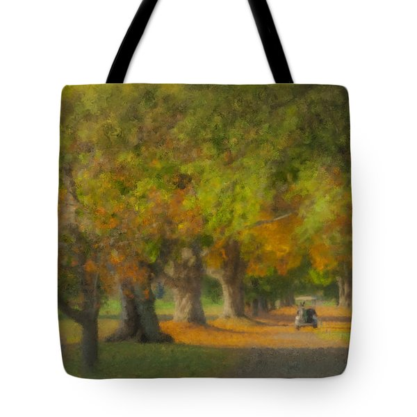 October Morning At Easton Country Club Tote Bag
