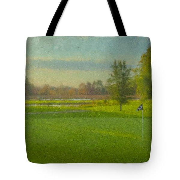 October Morning Golf Tote Bag