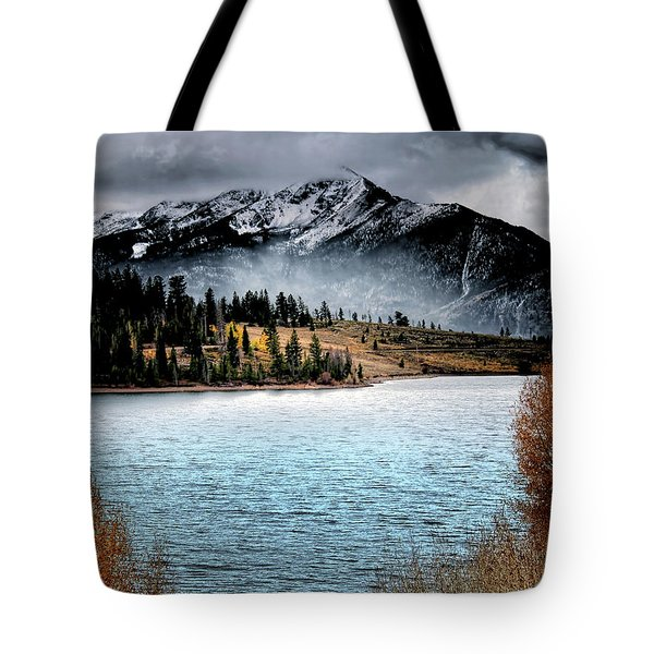 October Morning Tote Bag by Jim Hill