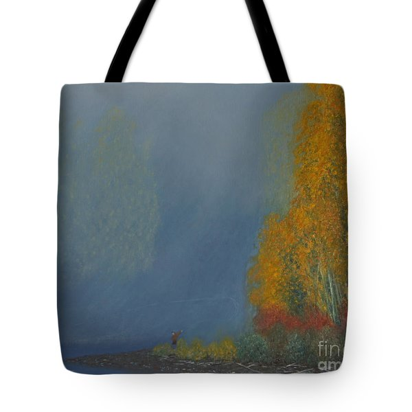 October On The River Tote Bag