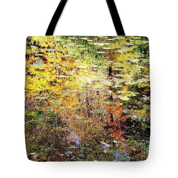 October Pond Tote Bag