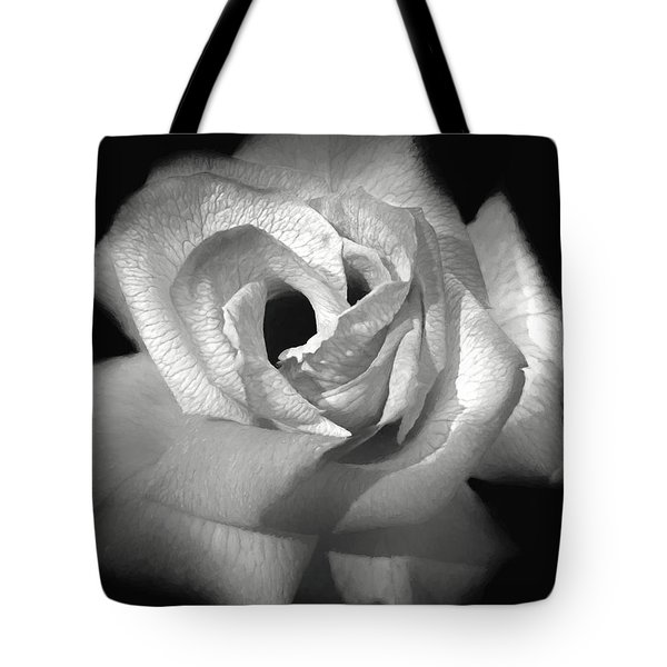 Tote Bag featuring the photograph October Rose by Donna Kennedy