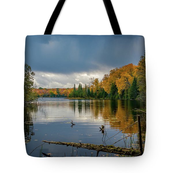October Storm Tote Bag