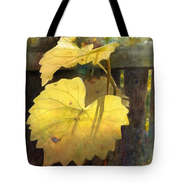 October Sunday Tote Bag by Andrew King