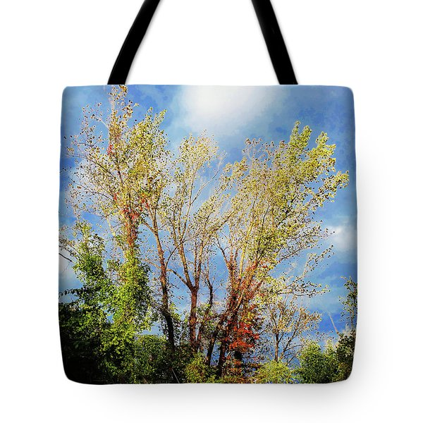 October Sunny Afternoon Tote Bag