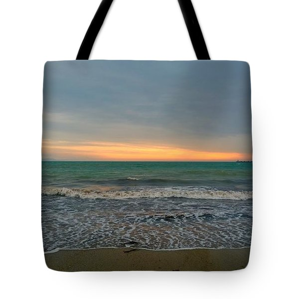 October Sunrise Tote Bag by Anne Kotan
