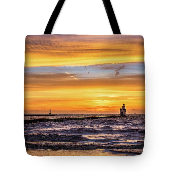 Tote Bag featuring the photograph October Surprise by Bill Pevlor