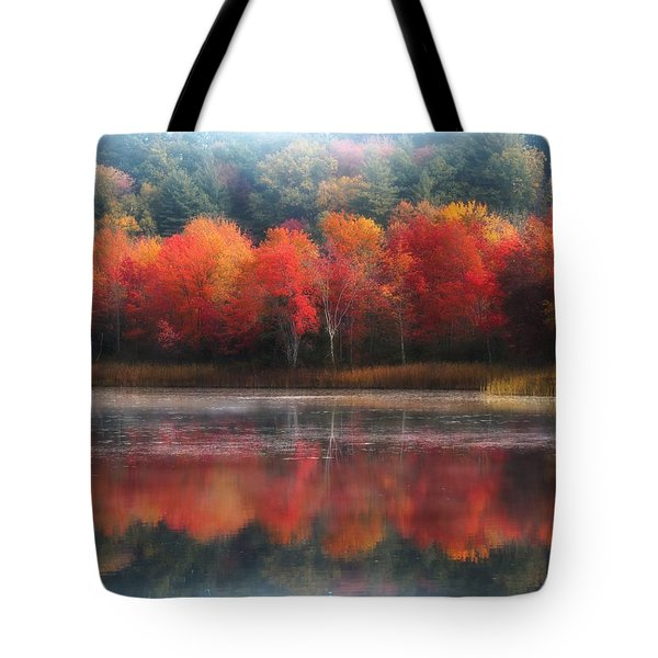 October Trees - Autumn  Tote Bag by MTBobbins Photography