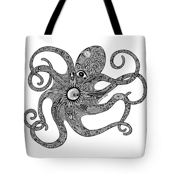 Octopus Tote Bag by Carol Lynne
