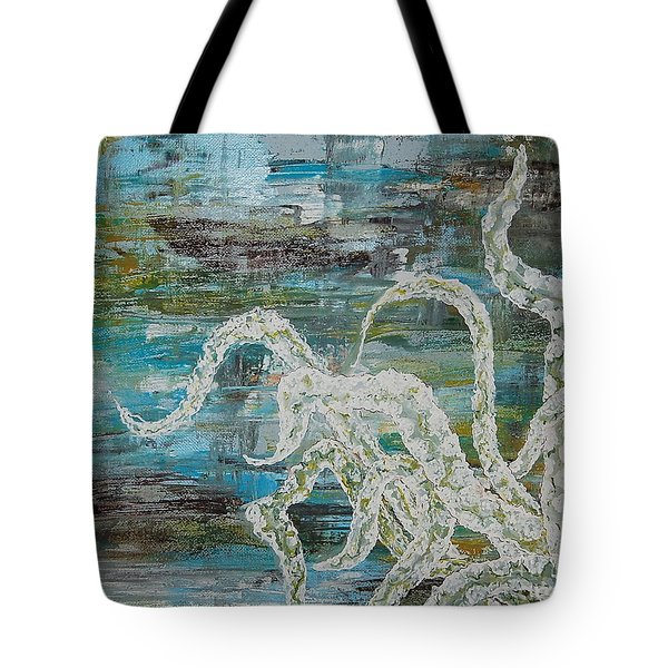 Octopus Of The Deep Tote Bag