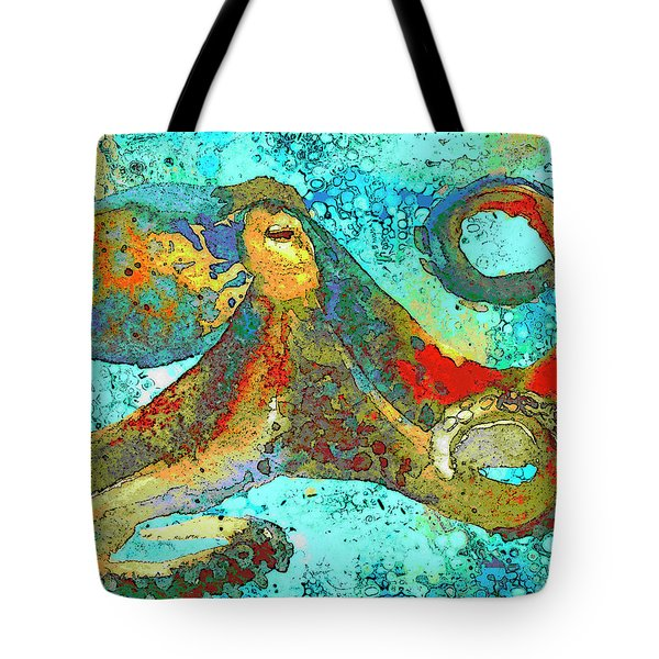 Caribbean Tango Tote Bag