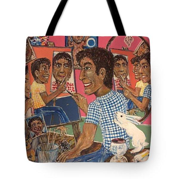 Octuple Self-portrait Tote Bag