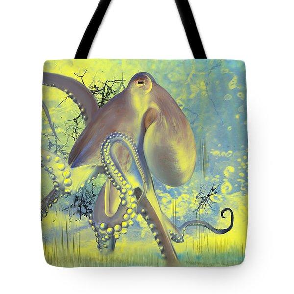 Octupus -1 Tote Bag